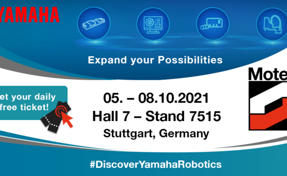 Motek 2021 Yamaha Robots